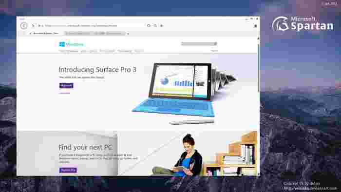 Adio Internet Explorer, bun venit Spartan!