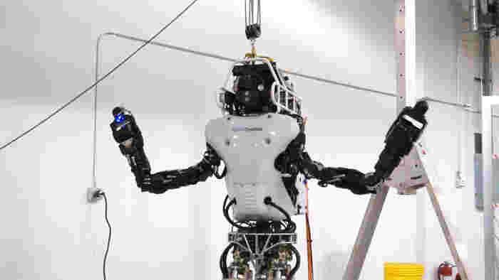 Robotul umanoid ATLAS primește upgrade-uri importante