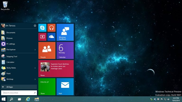 Windows 10 Anniversary Update schimbă interfaţa Start Menu