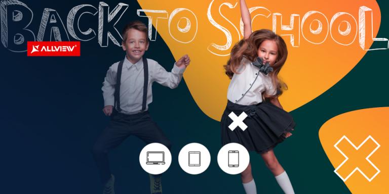 Allview a lansat o noua campanie pentru inceput de scoala