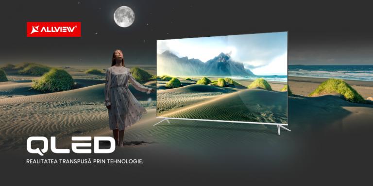 Primele modele QLED cu Android TV de la Allview