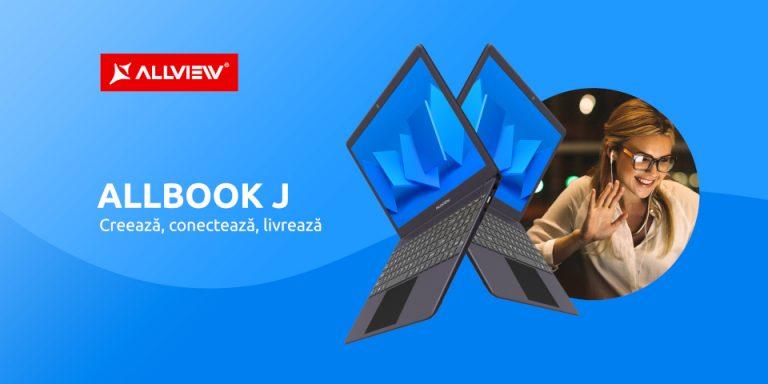 Allview  a lansat in Romania noul laptop Allbook J